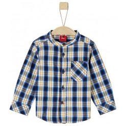 S.Oliver Chłopięca Koszula W Kratę 74 Żółty/Niebieski. Niebieskie koszule dla chłopców S.Oliver. Za 59.00 zł.