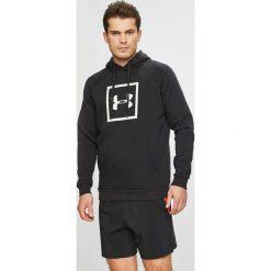 Under Armour - Bluza. Czarne bluzy męskie Under Armour, z nadrukiem, z bawełny. W wyprzedaży za 179.90 zł.