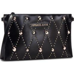Torebka VERSACE JEANS - E3VSBPE8  70778 899. Czarne listonoszki damskie Versace Jeans, z jeansu. W wyprzedaży za 329.00 zł.