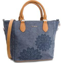 Torebka DESIGUAL - 18WAXPCV 4092. Niebieskie torebki do ręki damskie Desigual, ze skóry ekologicznej. W wyprzedaży za 239.00 zł.
