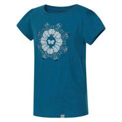 Hannah Dziewczęca Koszulka Poppy Jr 116 Niebieski. Niebieskie bluzki dla dziewczynek Hannah, z nadrukiem. W wyprzedaży za 29.00 zł.