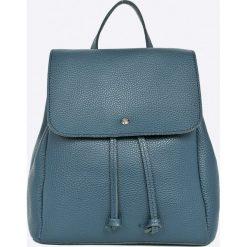 Answear - Plecak Stripes Vibes. Szare plecaki damskie ANSWEAR, ze skóry ekologicznej. W wyprzedaży za 69.90 zł.
