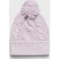Levi's - Czapka. Brązowe czapki i kapelusze damskie Levi's, z dzianiny. Za 119.90 zł.
