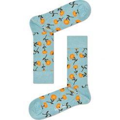 Happy Socks - Skarpetki Sunflower. Szare skarpety damskie Happy Socks, z bawełny. W wyprzedaży za 29.90 zł.