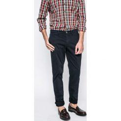 Trussardi Jeans - Spodnie. Szare eleganckie spodnie męskie TRUSSARDI JEANS, z bawełny. W wyprzedaży za 339.90 zł.