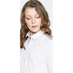 Answear - Koszula Twilight. Szare koszule damskie ANSWEAR, z bawełny, eleganckie, z klasycznym kołnierzykiem, z długim rękawem. W wyprzedaży za 99.90 zł.