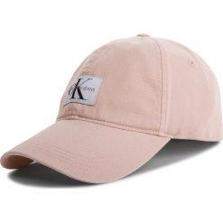 Czapka z daszkiem CALVIN KLEIN JEANS - J Monogram Cap W K40K400860 637. Czerwone czapki i kapelusze damskie Calvin Klein Jeans, z bawełny. Za 159.00 zł.