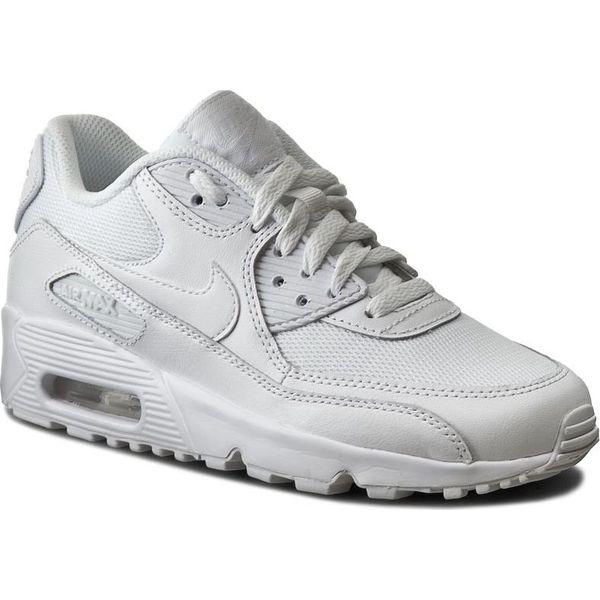 7c4bda5f Nike Buty damskie Air Max 90 Mesh Gs białe r. 39 (833418-100 ...
