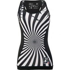 Feelj Koszulka damska Exclusive Shape Zebra czarno-biała r. M. T-shirty damskie Feelj!, z motywem zwierzęcym. Za 126.46 zł.