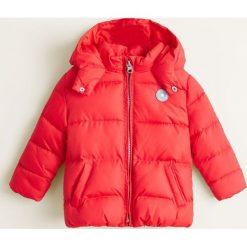 Mango Kids - Kurtka dziecięca June3 80-104 cm. Czerwone kurtki i płaszcze dla dziewczynek Mango Kids, z poliesteru. Za 89.90 zł.
