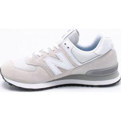 New Balance - Buty ML574EGW. Szare buty sportowe męskie New Balance, z materiału. W wyprzedaży za 269.90 zł.