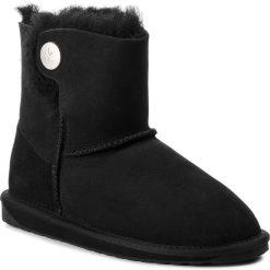 Buty EMU AUSTRALIA - Ore W11788 Black. Czarne kozaki damskie Emu Australia, ze skóry. Za 649.00 zł.