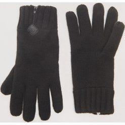 Rękawiczki z zamkiem - Czarny. Rękawiczki męskie marki FOUGANZA. W wyprzedaży za 19.99 zł.
