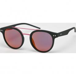 Polaroid - Okulary PLD6031. Brązowe okulary przeciwsłoneczne męskie Polaroid, z materiału. Za 279.90 zł.