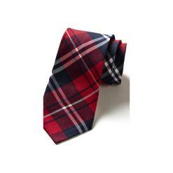 Krawat męski ARANGA. Brązowe krawaty i muchy Hisoutfit, z materiału. Za 129.00 zł.