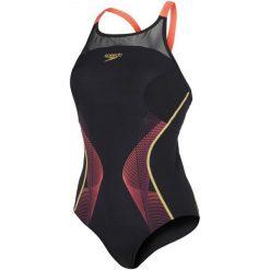 Speedo Strój Kąpielowy Fit Pinnacle Xback. Czarne kostiumy jednoczęściowe damskie Speedo. W wyprzedaży za 209.00 zł.