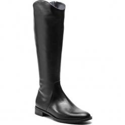 Oficerki GINO ROSSI - Nevia DKF443-XXX-E100-9900-F 99. Czarne kozaki damskie Gino Rossi, ze skóry. W wyprzedaży za 589.00 zł.