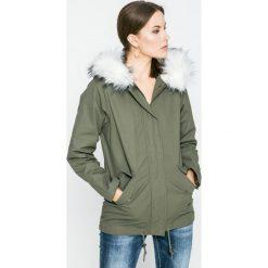 Answear - Kurtka Blossom Mood. Szare kurtki damskie ANSWEAR, z bawełny. W wyprzedaży za 149.90 zł.