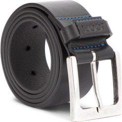 Pasek Męski JOOP! - JEANS 7514 85 10. Czarne paski damskie JOOP!, w paski, z jeansu. W wyprzedaży za 239.00 zł.