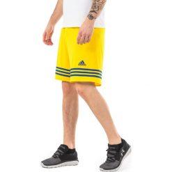 Adidas Spodenki męskie Entrada 14 żółte r. L (F50635). Krótkie spodenki sportowe męskie marki bonprix. Za 37.99 zł.
