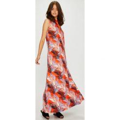 U.S. Polo - Sukienka. Szare sukienki damskie U.S. Polo, z bawełny, casualowe, polo, z krótkim rękawem. W wyprzedaży za 599.90 zł.