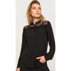 Koszula - Czarny. Czarne koszule damskie Reserved. Za 79.99 zł.
