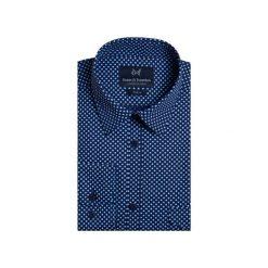 Koszula 1911 4. Niebieskie koszule męskie Guns&tuxedos, z bawełny, z klasycznym kołnierzykiem. Za 129.99 zł.