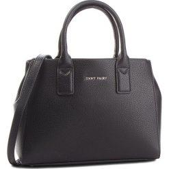 Torebka JENNY FAIRY - RC13360 Czarny. Czarne torebki do ręki damskie Jenny Fairy, ze skóry ekologicznej. Za 119.99 zł.