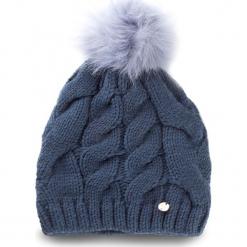 Czapka LIU JO - Cuffia Treccia Ponpo A18226 M0300 Blu Polvere 83918. Niebieskie czapki i kapelusze damskie Liu Jo, z materiału. Za 149.00 zł.