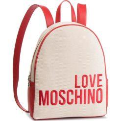 Plecak LOVE MOSCHINO - JC4114PP17LO0107 Naturale. Brązowe plecaki damskie Love Moschino, z materiału. Za 839.00 zł.