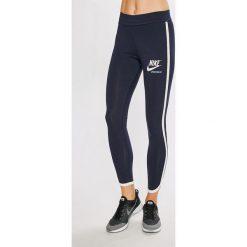 Nike Sportswear - Legginsy. Szare legginsy damskie Nike Sportswear, z bawełny. W wyprzedaży za 139.90 zł.