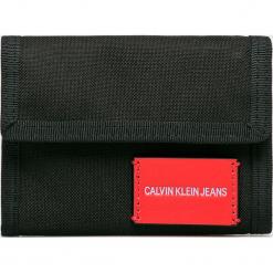 Calvin Klein Jeans - Portfel. Czarne portfele męskie Calvin Klein Jeans, z jeansu. Za 179.90 zł.