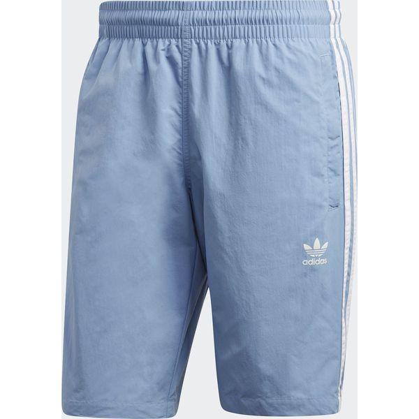 aa836bafd44c28 Adidas Szorty pływackie męskie Originals 3 Stripes niebieskie r. L ...