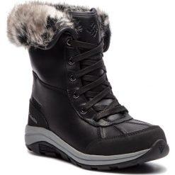 Śniegowce COLUMBIA - Bangor Omni Heat BL2743 Black/Monument 010. Czarne kozaki damskie Columbia, z materiału. Za 749.99 zł.