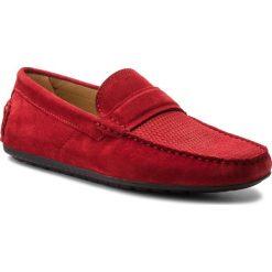 Mokasyny BOSS - Dandy 50383603 10206532 01 Bright Red 620. Czerwone mokasyny męskie Boss, ze skóry. W wyprzedaży za 439.00 zł.