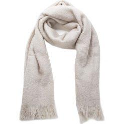 Szal UGG - W Boucle Wrap 17511 Light Grey Heather. Brązowe szaliki i chusty damskie UGG, z materiału. Za 389.00 zł.