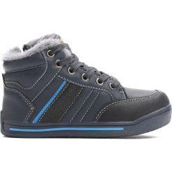 Granatowe Buty Sportowe Bowing. Niebieskie buty sportowe chłopięce Born2be, z materiału. Za 59.99 zł.