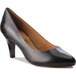 Półbuty CAPRICE - 9-22409-21 Black Nappa 022. Czarne półbuty damskie Caprice, ze skóry ekologicznej, eleganckie. W wyprzedaży za 209.00 zł.
