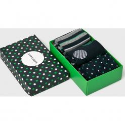 Jack & Jones - Skarpety (3-pack). Zielone skarpety męskie Jack & Jones, z bawełny. Za 39.90 zł.