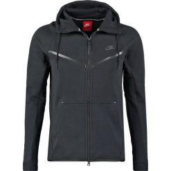 Nike Sportswear TECH FULL ZIP WINDRUNNER HOODIE Bluza z kapturem black/black. Kardigany męskie Nike Sportswear, z bawełny. Za 399.00 zł.