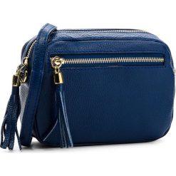 Torebka CREOLE - K10541  Granat. Niebieskie torebki do ręki damskie Creole, ze skóry. Za 129.00 zł.