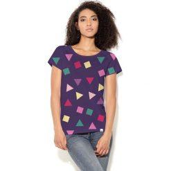 Colour Pleasure Koszulka CP-034 115 fioletowa r. XS/S. T-shirty damskie Colour Pleasure. Za 70.35 zł.