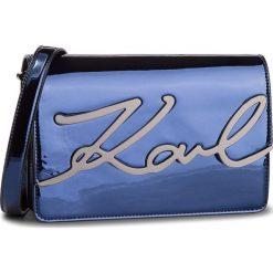 Torebka KARL LAGERFELD - 86KW3038 Admiral. Niebieskie torebki do ręki damskie KARL LAGERFELD, ze skóry ekologicznej. Za 1,339.00 zł.