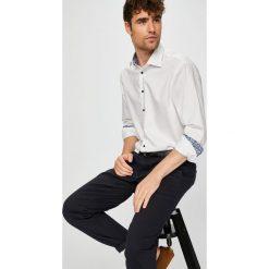 Tommy Hilfiger Tailored - Koszula. Szare koszule męskie Tommy Hilfiger Tailored, z bawełny, z klasycznym kołnierzykiem, z długim rękawem. Za 269.90 zł.