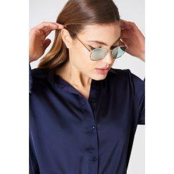 Le Specs Okulary przeciwsłoneczne Neptune - Gold. Brązowe okulary przeciwsłoneczne damskie Le Specs. W wyprzedaży za 121.58 zł.
