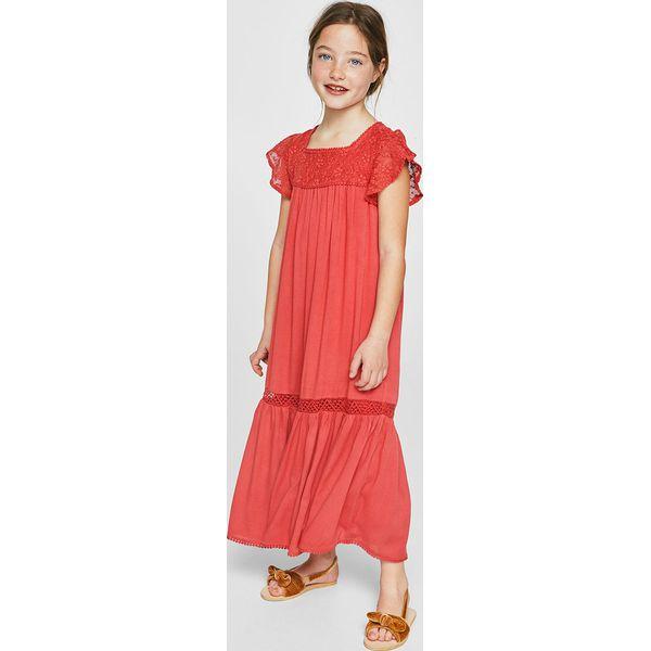 51b858e6b6 Mango Kids - Sukienka dziecięca Repic 110-152 cm - Sukienki dla ...