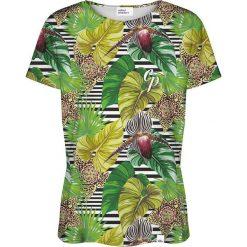 Colour Pleasure Koszulka damska CP-030 271 zielona r. M/L. T-shirty damskie Colour Pleasure. Za 70.35 zł.