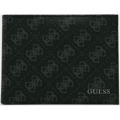 Guess Jeans - Portfel. Czarne portfele męskie Guess Jeans, z jeansu. Za 259.90 zł.