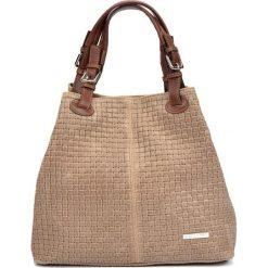 Torebka w kolorze beżowym - (S)30 x (W)36 x (G)17 cm. Brązowe torby na ramię damskie Bestsellers bags. W wyprzedaży za 289.95 zł.