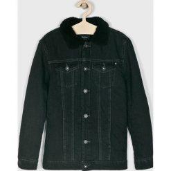 Pepe Jeans - Kurtka dziecięca Skylar 128-176 cm. Czarne kurtki i płaszcze dla dziewczynek Pepe Jeans, z bawełny. Za 379.90 zł.